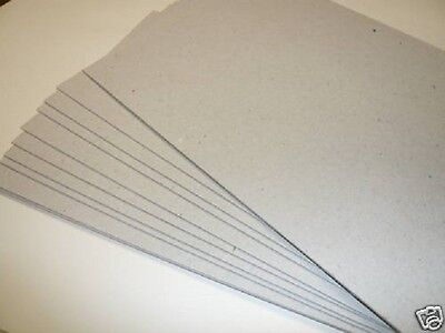 A3 Greyboard 100% Recycled Cardboard Thick Card  1.0mm, 1.25mm, 1.5mm, 2.00mm
