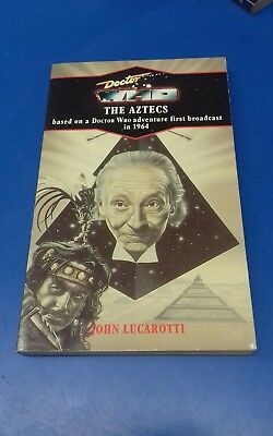 DOCTOR WHO BOOK - THE AZTECS  - VIRGIN BLUE SPINE RELEASE No 88 - DR WHO