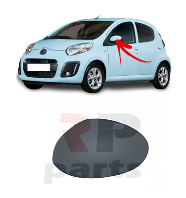 Citroen C1 Peugeot 107 Toyota Aygo 2005-2014 O//S RIGHT Wing Mirror Cover PRIMED