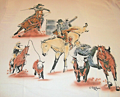 "American Sport Horse T-shirt  "" Natural "" Small ( 34 ~ 36 )"