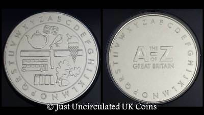 2018 Ten Pence 10p A-Z Completer Medal - A to Z Collector's Medal Coin Hunt