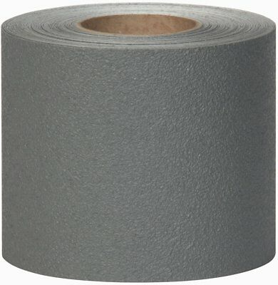 "4"" x 10' Roll Coarse Anti Slip Safety Grip Tape Non Skid Stair Step Boat Gray"