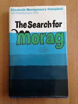 The Search for Morag. (Loch Morar Monster) Rare 1st Ed. 1972, H/Back with D/J.