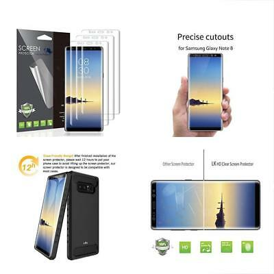 Screen Protector LK PET Soft Flexible TPU Film For Samsung Galaxy Note 8 3 PACK