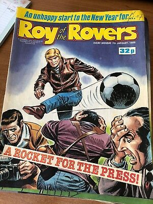 Roy Of The Rovers Comics