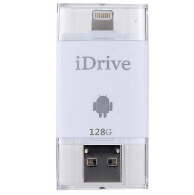 128GB USB i-Flash Drive U disk Storage Memory Stick For iPhone Ipad Samsung