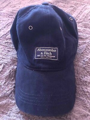 ABERCROMBIE   FITCH Blue Baseball Cap Fitted -  15.00  85b71f85b97