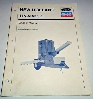 new holland 350 grinder mixer owner s operator s manual 14 40 rh picclick com new holland 352 grinder mixer parts new holland 352 grinder mixer operators manual