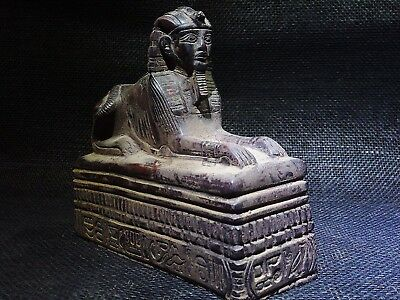 EGYPTIAN ANTIQUES ANTIQUITIES Sphinx of Amenhotep III Sculpture 1390–1352 BC