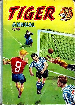 Uk Comics Tiger Annuals Complete Digital Collection On Dvd