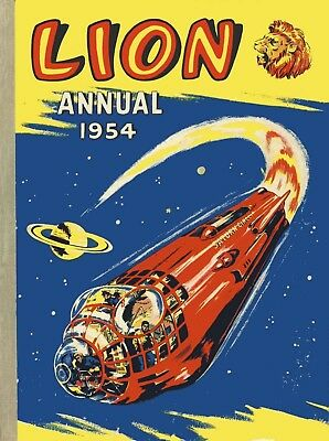 Uk Comics Lion Annuals Complete Digital Collection On Dvd