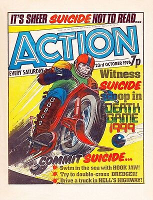Uk Comics - Action Weekly Full Run On Dvd Including Pulped Issue