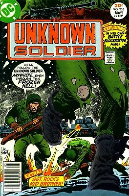 Us Comics The Unknown Soldier Collection Of Bronze Age War Comics On Dvd