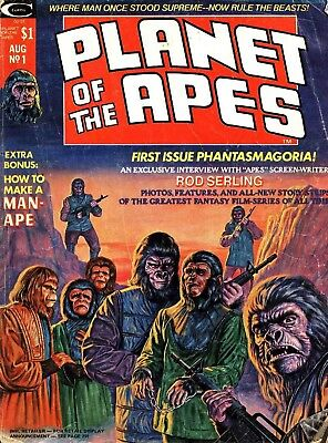 Us Marvel B&w Planet Of The Apes Magazine & Savage Tales Collection On Dvd
