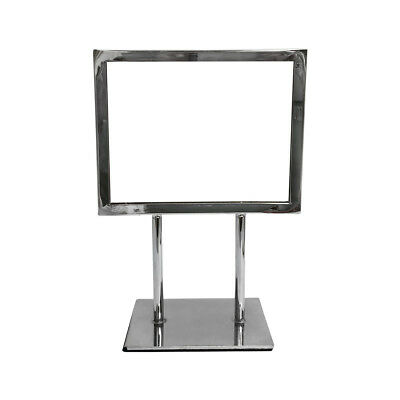 """Card frame 7-1/4"""" x 5-3/4"""" Sign Holder Stand Counter Top Display Retail Display"""