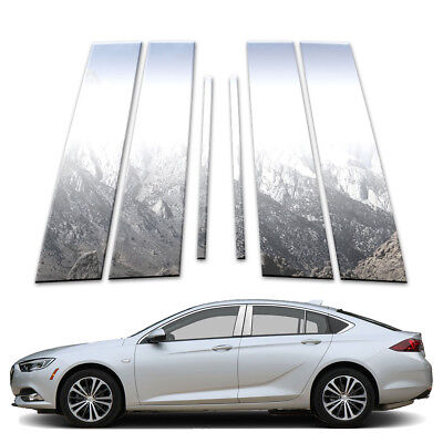 6p Pillar Post Covers fits 2018-2019 Buick Regal Sportback by Brighter Design
