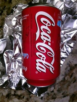Coca-Cola Bean Bag plush toy in a coke can! Athens 2004