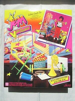 """Vintage Hasbro JEM Video Madness """"It's Workin' Out!"""" - Sealed"""