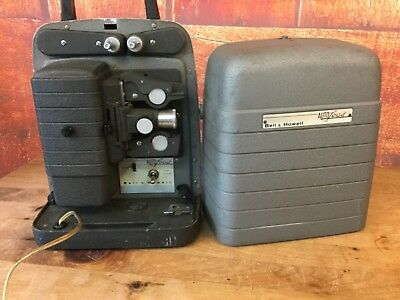 Vintage BELL & HOWELL Model 353 Autoload 8MM Movie Film Projector Cinema