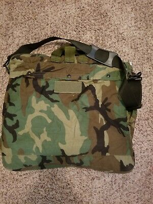 d6ee07814b US Army Military Helicopter Pilot Flyers Helmet Bag HGU-56 P Woodland NEW
