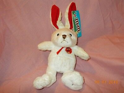 M&m Easter Rabbit Plush. New Exc. Cond. Must Have!
