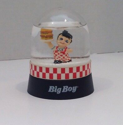 Big Boy Restaurants Snow Globe, 1999, Licensed By Elias Bros.