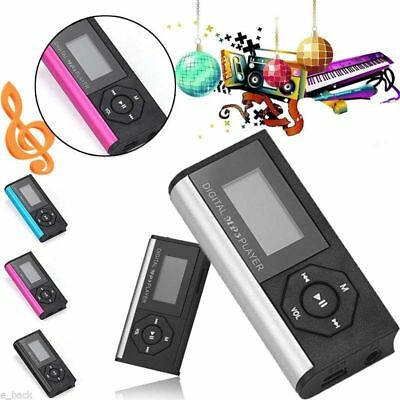 Portable Mini USB Digital MP3 Player LCD Screen Support 32GB Micro SD TF Card CN