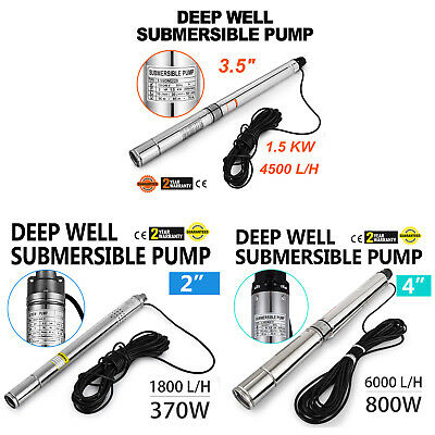Borehole Pump Deep Well Water Submersible Electric Garden Pump