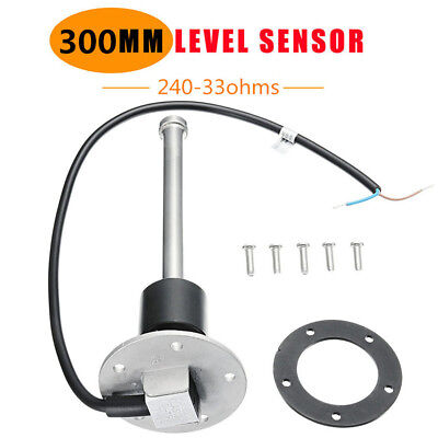 300mm Water Fuel Level Sender Car RV Boat Fuel Sending Unit 240-33 ohms