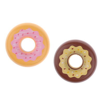Wooden Magnet Connected Chocolate Strawberry Donut Kids Room Decorative Toy