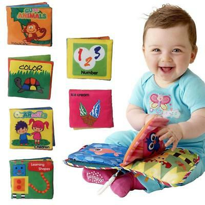 Baby Intelligence development Cloth Fabric Cognize Book Educational Toy for Kids