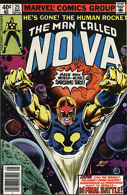 Us Comics The Man Called Nova #1-25 Full Bronze Age Collection On Dvd