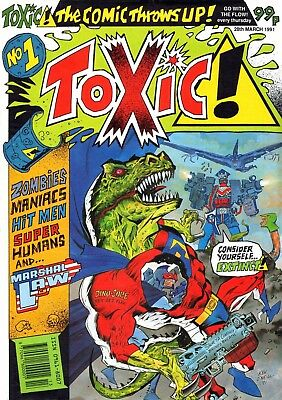 Uk Comics Toxic! #1-31 And Strip #1-20 Complete Collections On Dvd