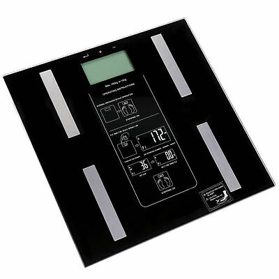 Digital Body Fat Scale LCD Display Weight Electronic Bathroom BMI Gym