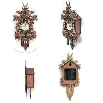 Hamburg Antique Traditional Classic Cuckoo Bronze Wall Clock !