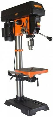 WEN Drill Press 12 in. 5/8 in. Chuck Variable Speed Bench-Top Built-In Light
