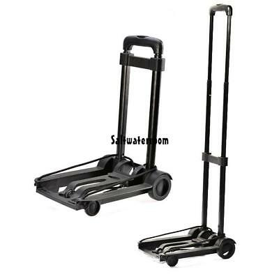 New Folding Flatbed Folding Trolley Platform Cart Platform Truck Luggage TXGT