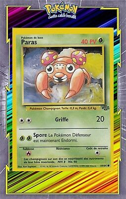 🌈Paras - Jungle Edition 2 - 59/64 - Carte Pokemon Neuve Française