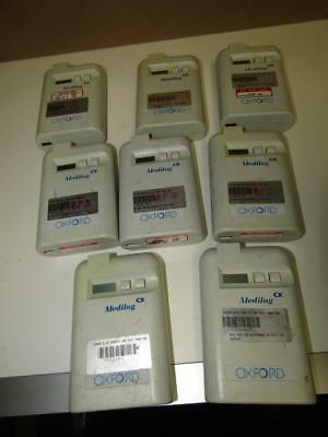 Job Lot Of 8 Medilog CX Ambulatory Blood Pressure Monitors