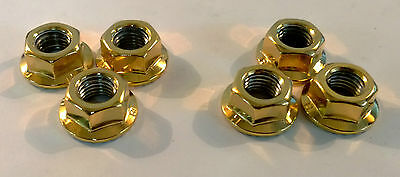 24Ct Gold Plated Suspension Strut Top Nuts Silvia 200Sx S13 S14 S14A S15 24K