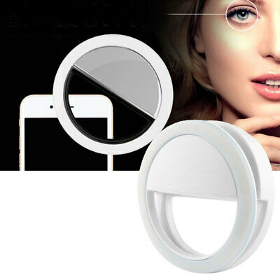Selfie 36 LED Ring Flash Fill Light Clip Camera For iPhone Mobile Phone