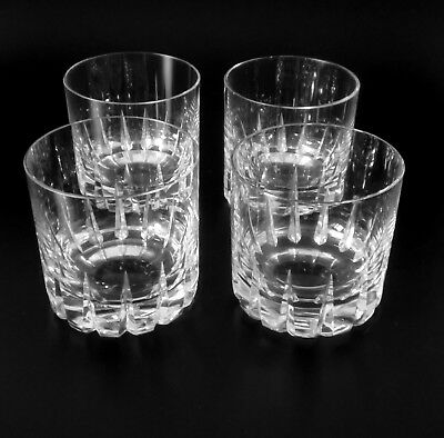 "4x Rosenthal 50s Whisky Glas ""Patricia"" Wagenfeld whiskey glass verre annees 50"