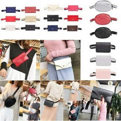Fashion Women Waist Bag Fanny Pack Phone Key Cards Belt Clutch Purse Wallet Bags