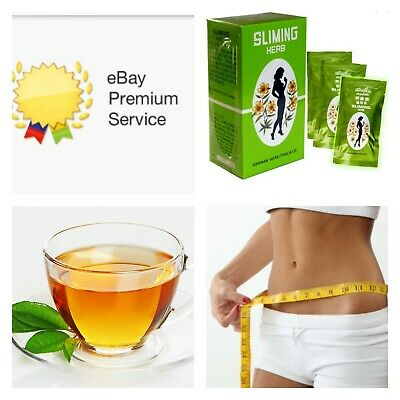 German SLIMMING HERB TEA - Sliming Weight Loss Diet Detox (50 Bags)