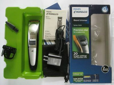 Philips Norelco Beard trimmer Series 3500, 20 length settings, QT4018/49