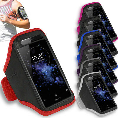 Premium Armband For Sony Xperia XZ2 Compact Running Jogging Exercise Case Holder
