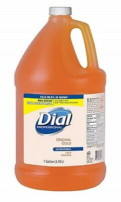 Liquid Dial Gold Antimicrobial Hand Soap Washers Refill 1 Gal Kills 99.9% Germs
