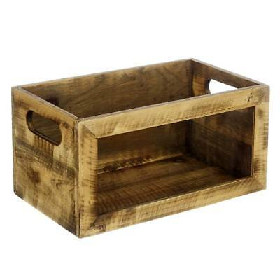 NEW Wooden Tray With Glass By Spotlight