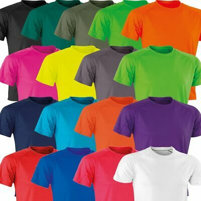 Mens Ladies Large Cool Breathable Fitness T Shirt - Running Gym Performance Top