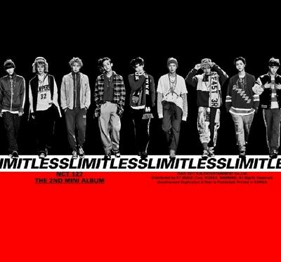 NCT 127 2nd Mini Album [NCT#127 LIMITLESS] CD+Photo+2p Poster+Book+Sticker+Card